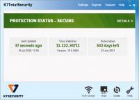 K7 TotalSecurity 16.0.0428 Crack + Activation key 2021